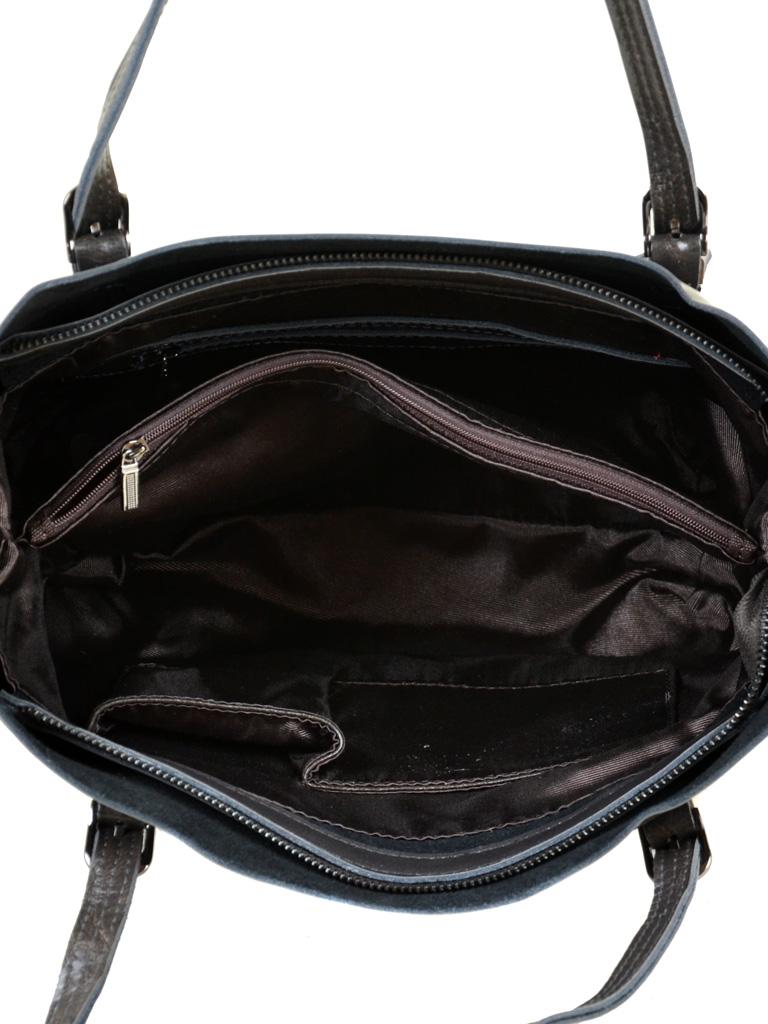 Сумка Женская Классическая кожа PODIUM 012-1 8603 grey