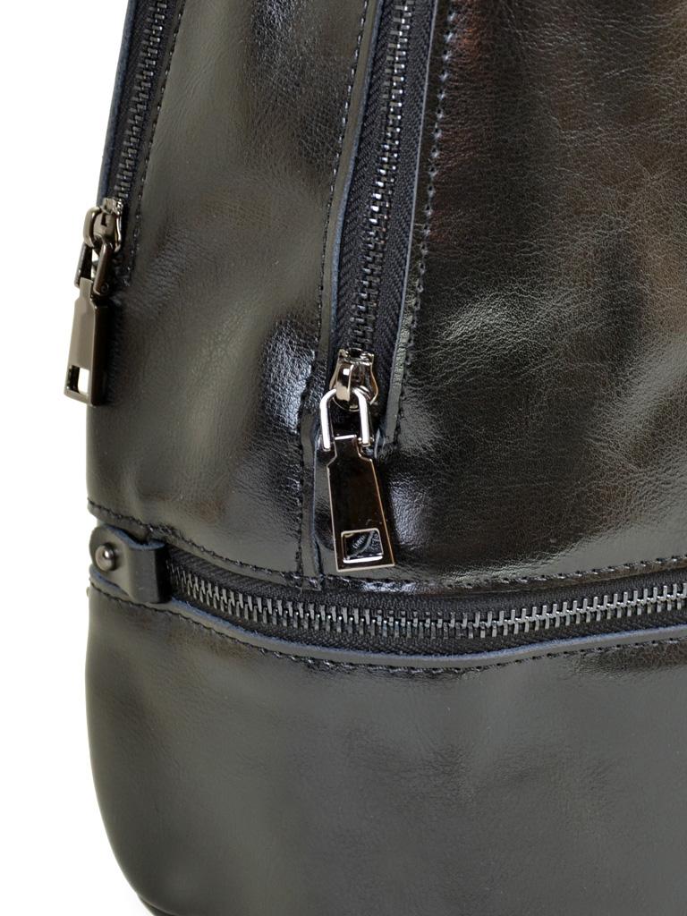 Сумка Женская Рюкзак кожа PODIUM 012-1 8626 black - фото 3