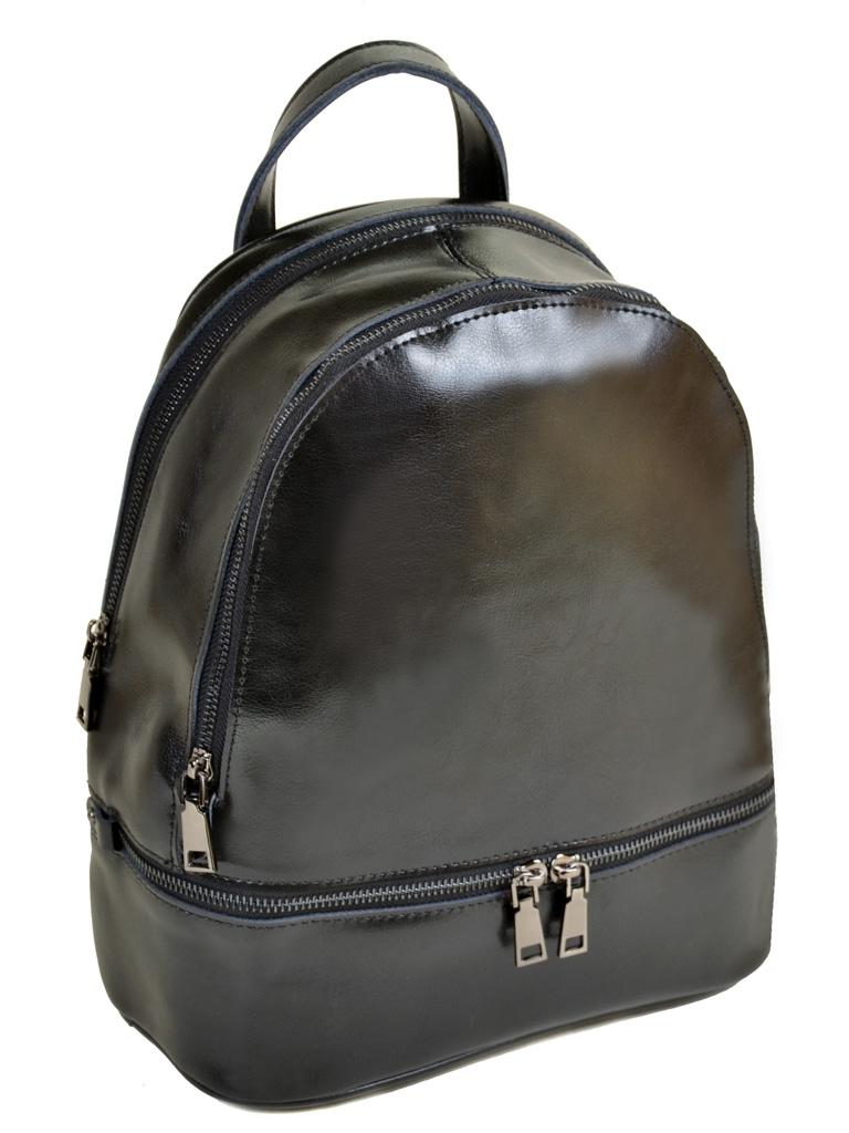 Сумка Женская Рюкзак кожа PODIUM 012-1 8626 black