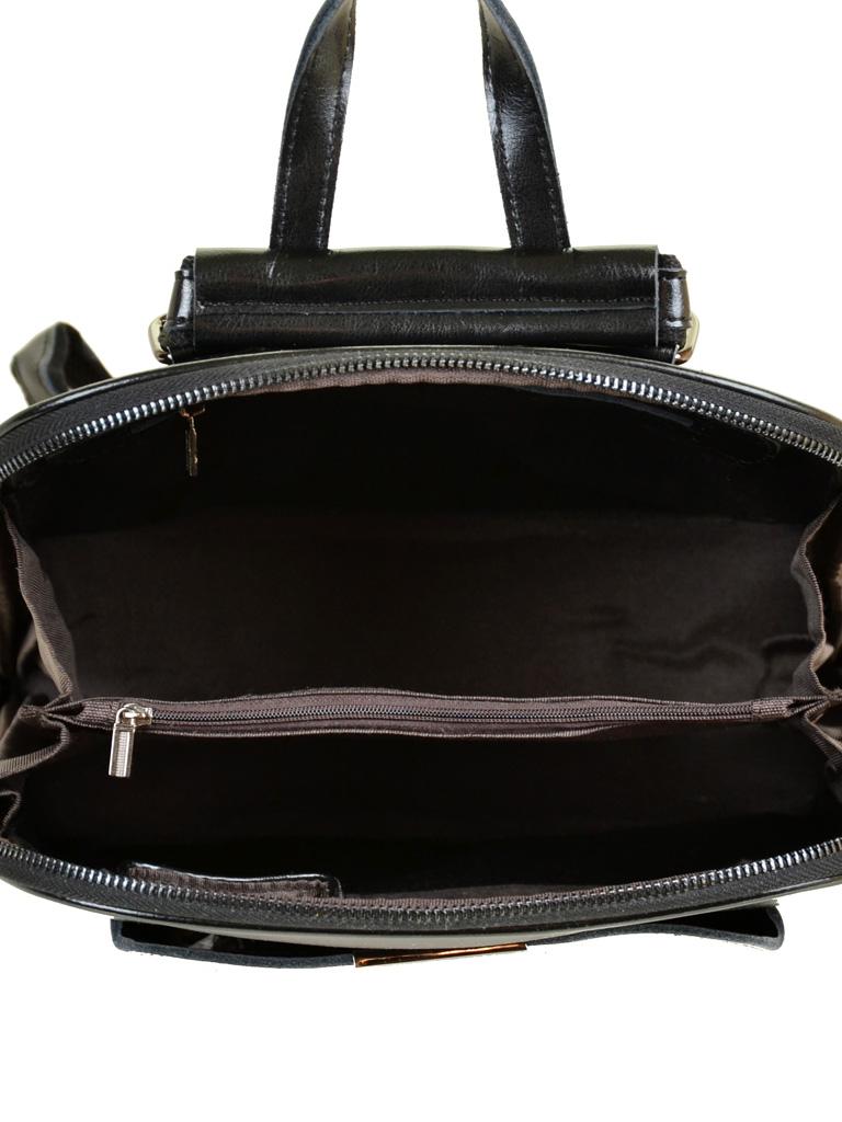 Сумка Женская Рюкзак кожа PODIUM 012-1 8628 black - фото 5