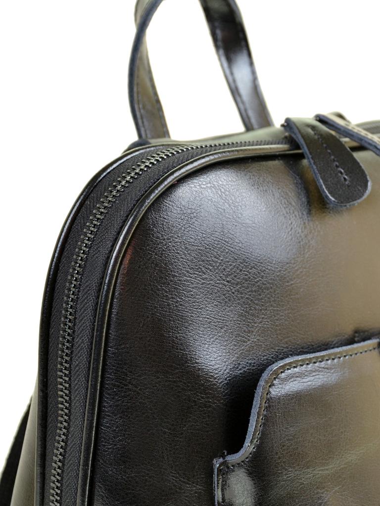 Сумка Женская Рюкзак кожа PODIUM 012-1 8628 black - фото 3
