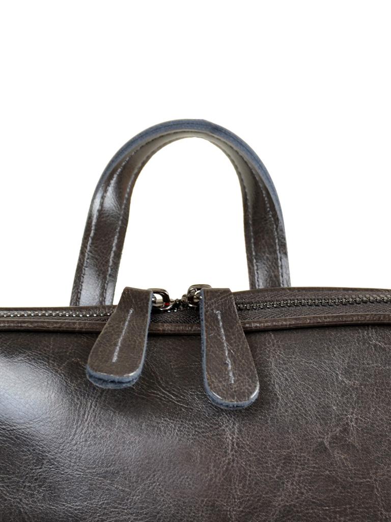 Сумка Женская Рюкзак кожа PODIUM 012-1 8628 grey