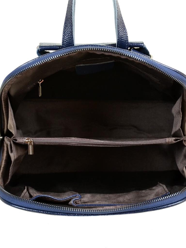 Сумка Женская Рюкзак кожа PODIUM 012-1 8628-9 blue