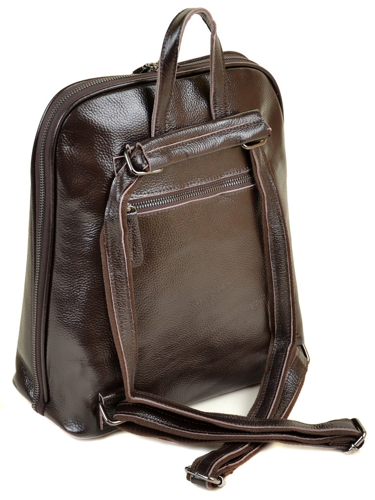 Сумка Женская Рюкзак кожа PODIUM 012-1 8628-9 brown