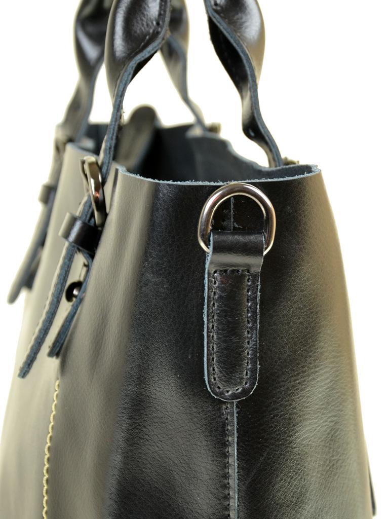 Сумка Женская Классическая кожа PODIUM 012-1 8631 black