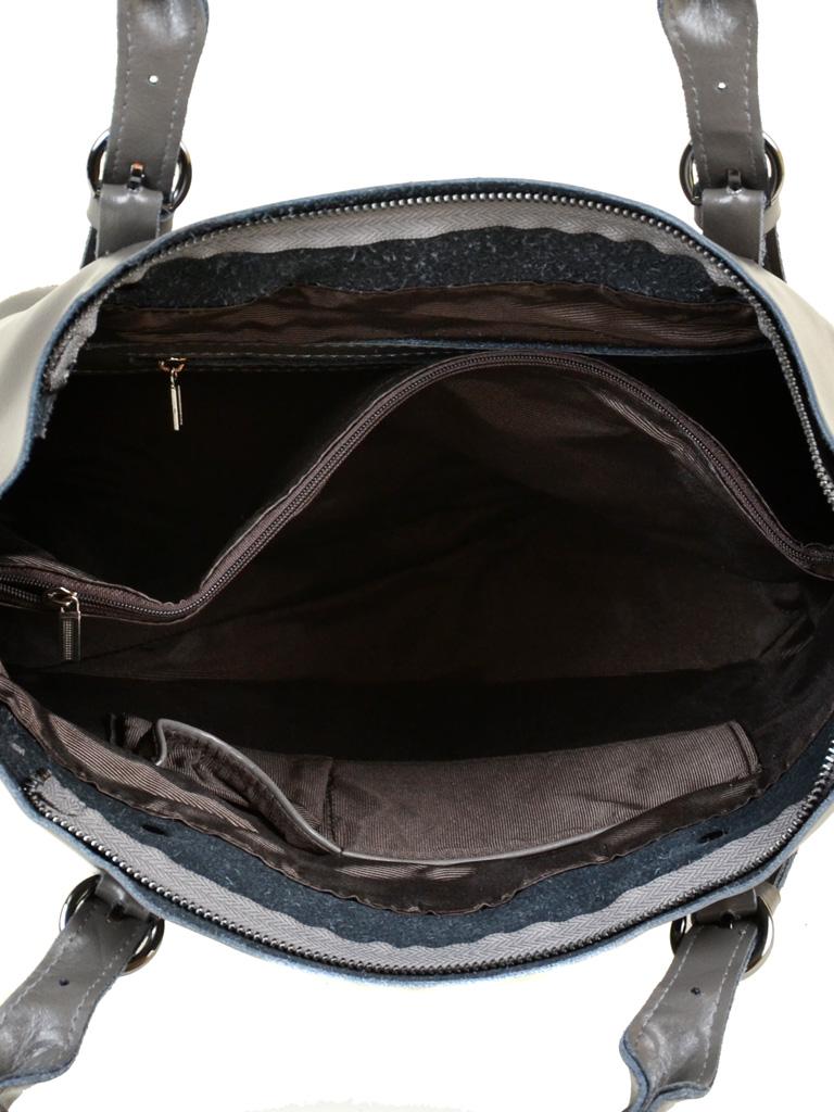 Сумка Женская Классическая кожа PODIUM 012-1 8631 grey