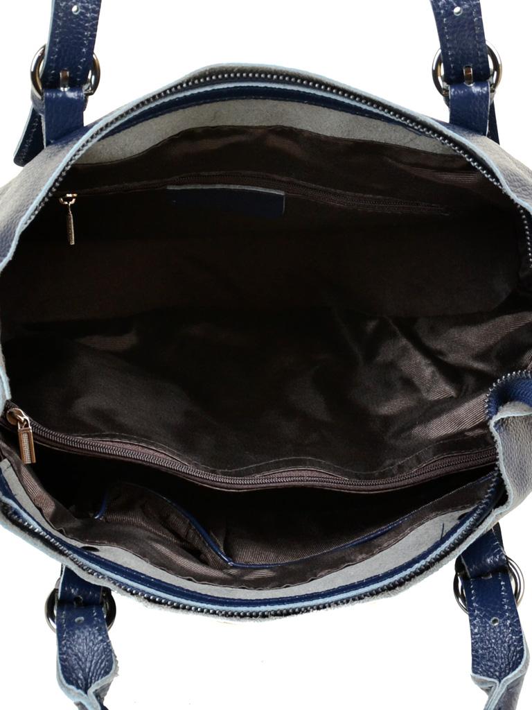 Сумка Женская Классическая кожа PODIUM 012-1 8631-9 blue - фото 5