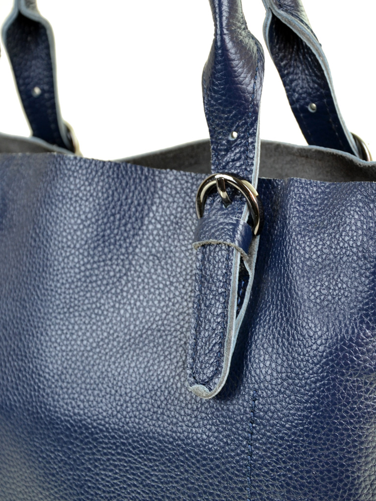 Сумка Женская Классическая кожа PODIUM 012-1 8631-9 blue - фото 3