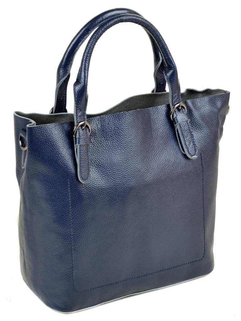 Сумка Женская Классическая кожа PODIUM 012-1 8631-9 blue