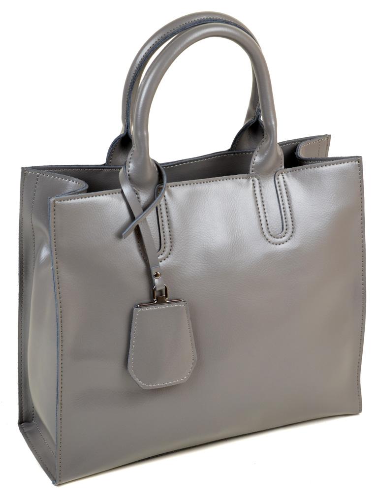 Сумка Женская Классическая кожа PODIUM 012-1 8633 grey