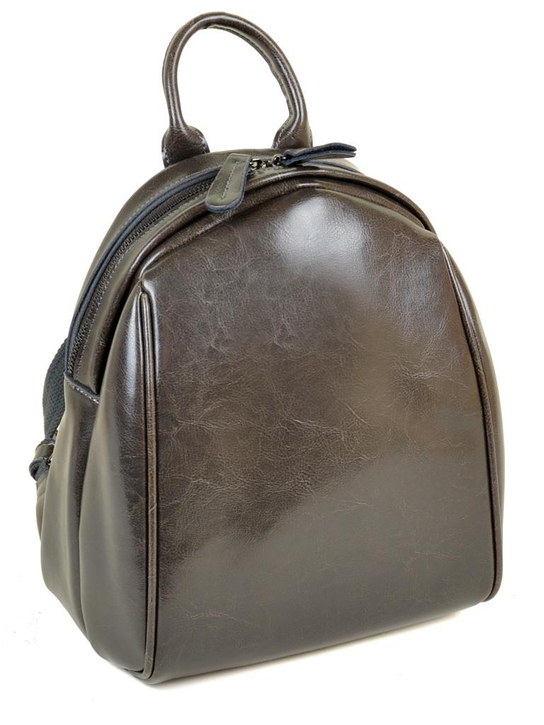 Сумка Женская Рюкзак кожа PODIUM 012-1 8637 grey