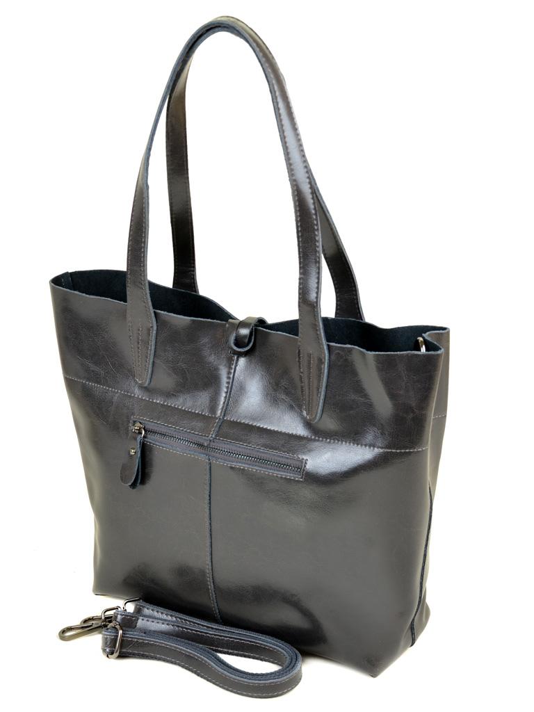 Сумка Женская Классическая кожа PODIUM 012-1 J002 grey