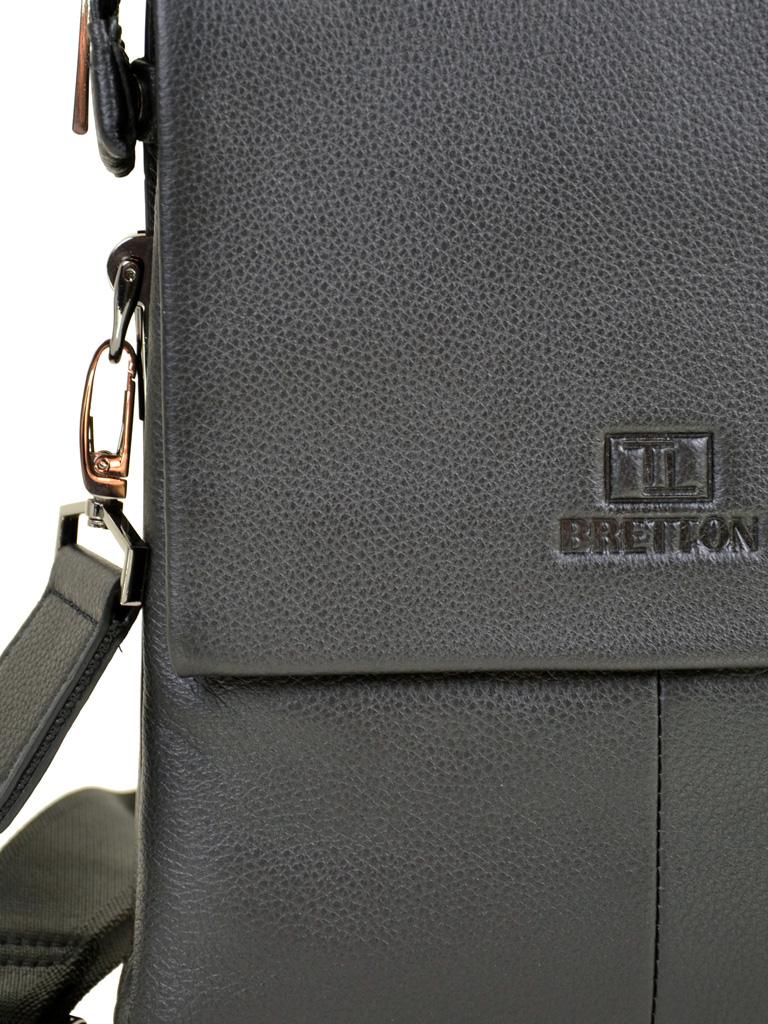 Сумка Мужская Планшет кожа BRETTON TW5283-4 black