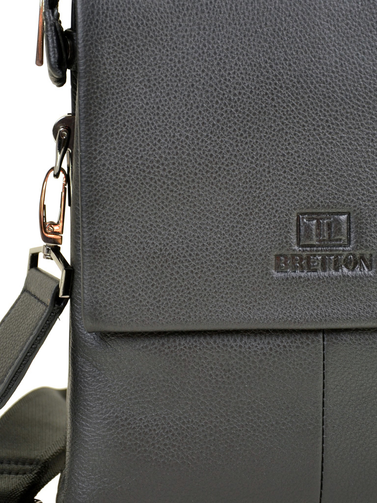 Сумка Мужская Планшет кожа BRETTON TW5283-4 black - фото 3