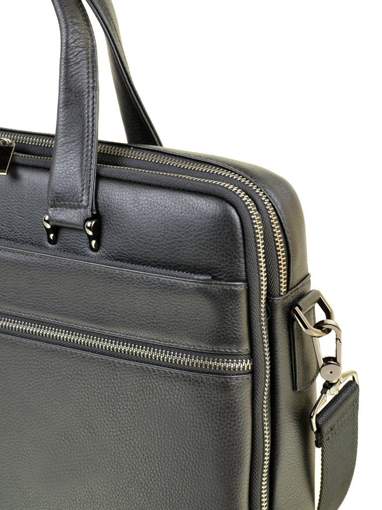 Сумка Мужская Портфель кожа BRETTON TW407-39 black