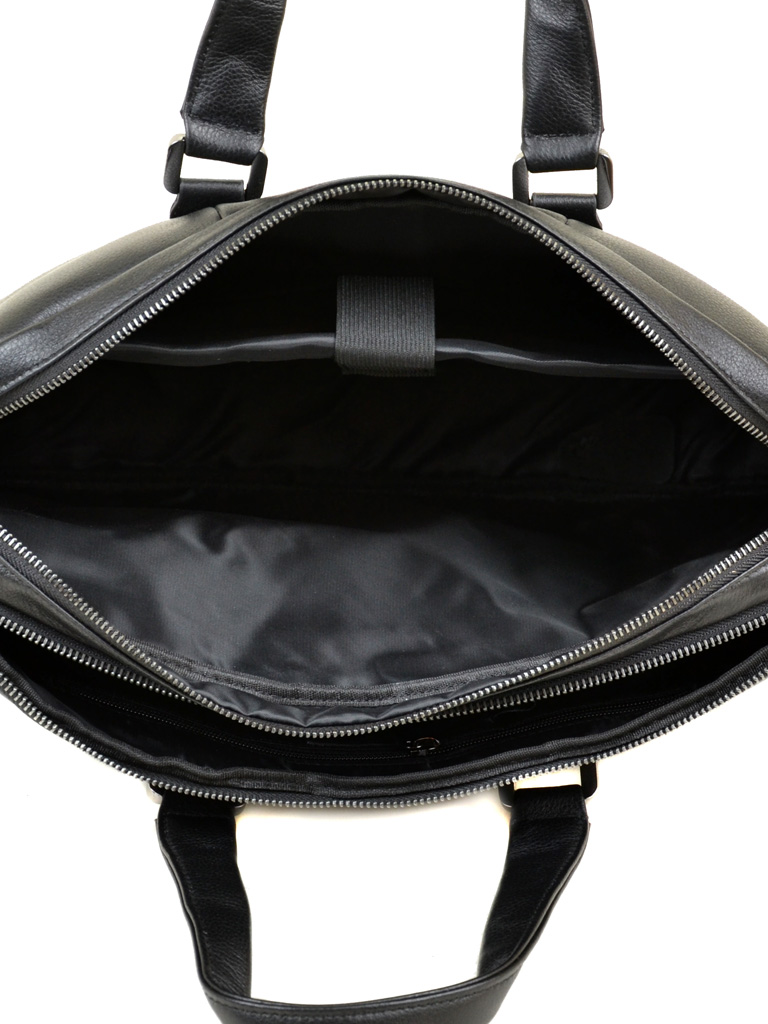 Сумка Мужская Портфель кожа BRETTON TW9318-2 black - фото 5