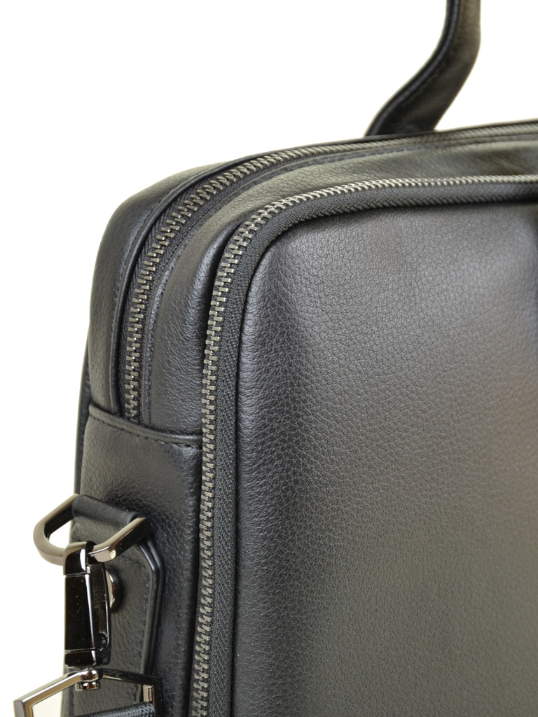 Сумка Мужская Портфель кожа BRETTON TW9318-2 black - фото 4