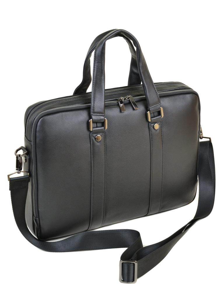 Сумка Мужская Портфель кожа BRETTON TW9318-2 black - фото 3
