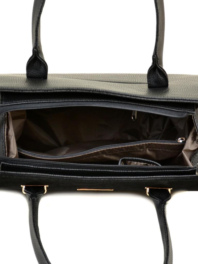 Сумка Женская Классическая иск-кожа М 50 47 замш black