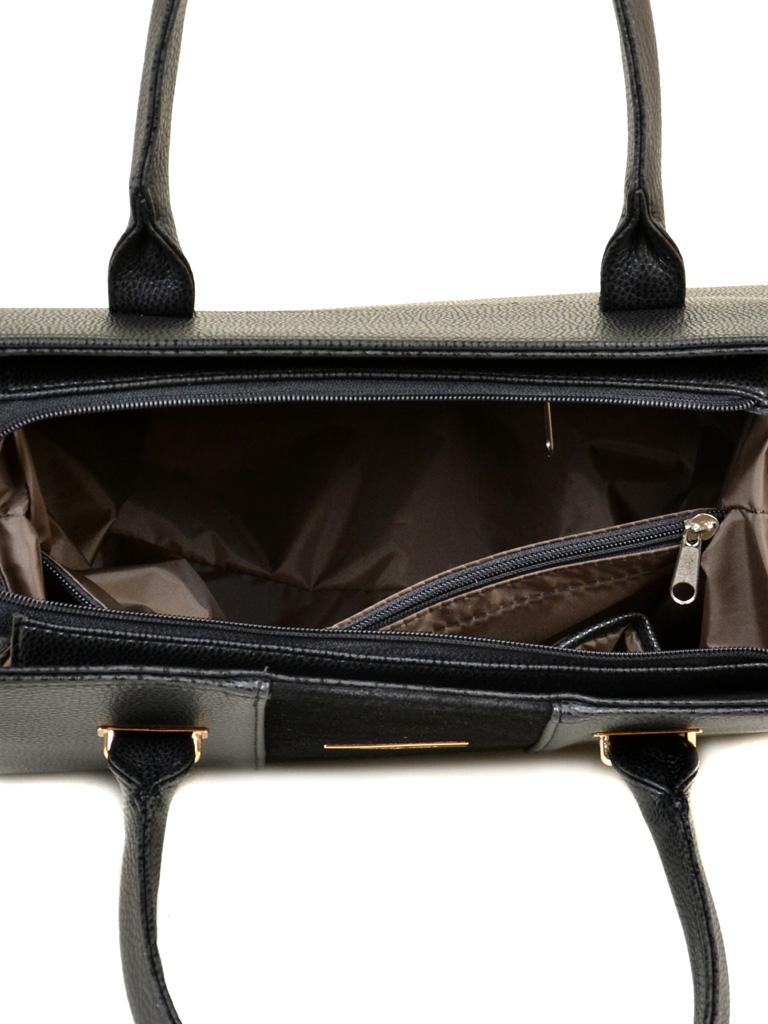 Сумка Женская Классическая иск-кожа М 62 47 замш black