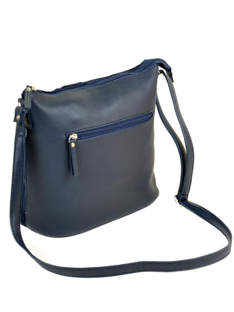 Сумка Женская Классическая иск-кожа М 78 39 замш blue