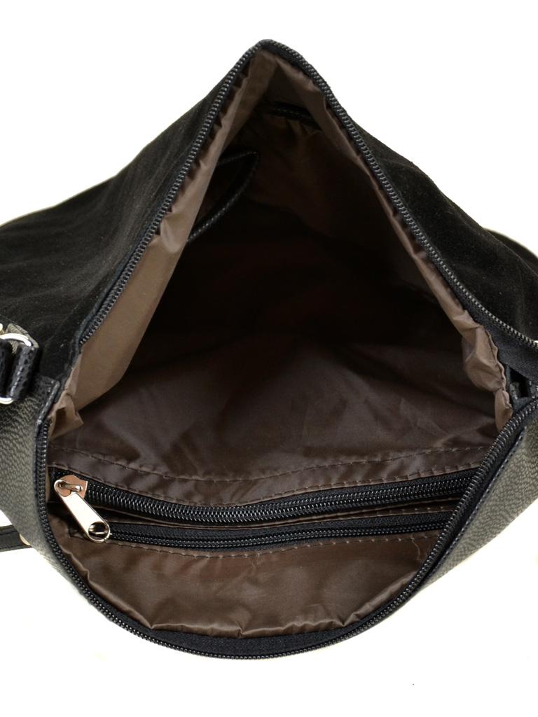 Сумка Женская Классическая иск-кожа М 78 47 замш black