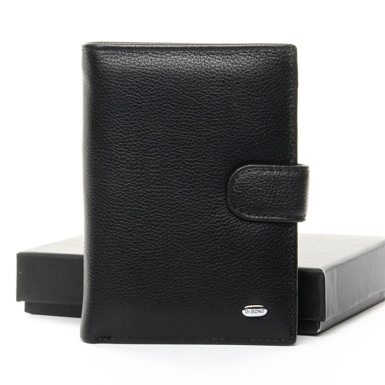 Кошелек Classic кожа DR. BOND M25-1 black