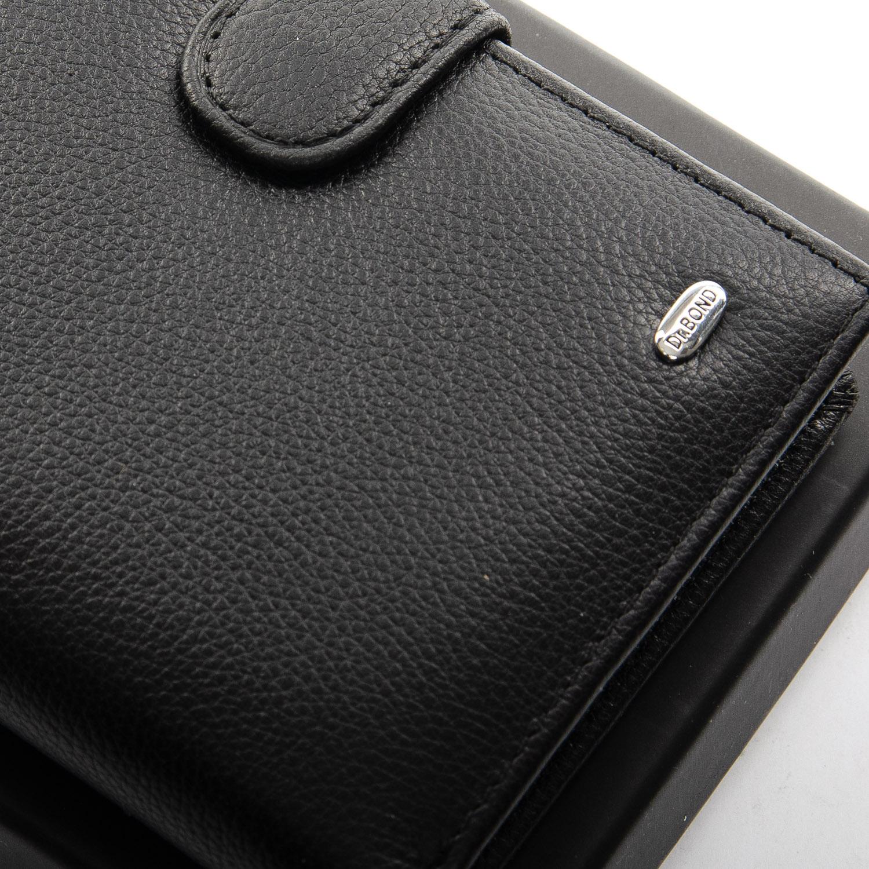 Кошелек Classic кожа DR. BOND M25-1 black - фото 3