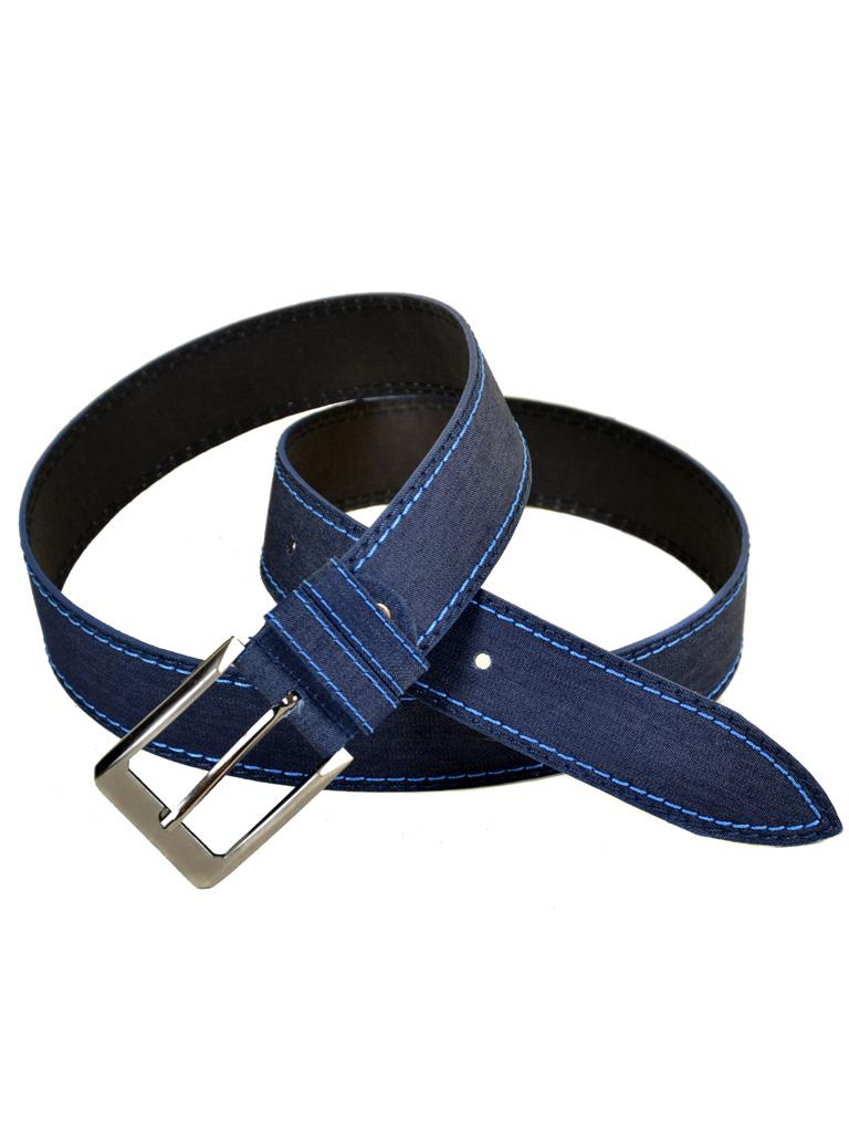 Ремень Женский иск-кожа 1807 blue