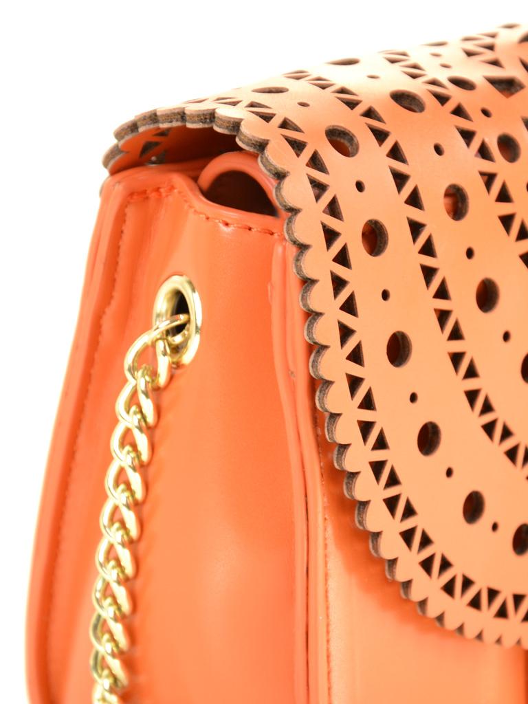 Сумка Женская Клатч иск-кожа Podium 6-02 8490 orange