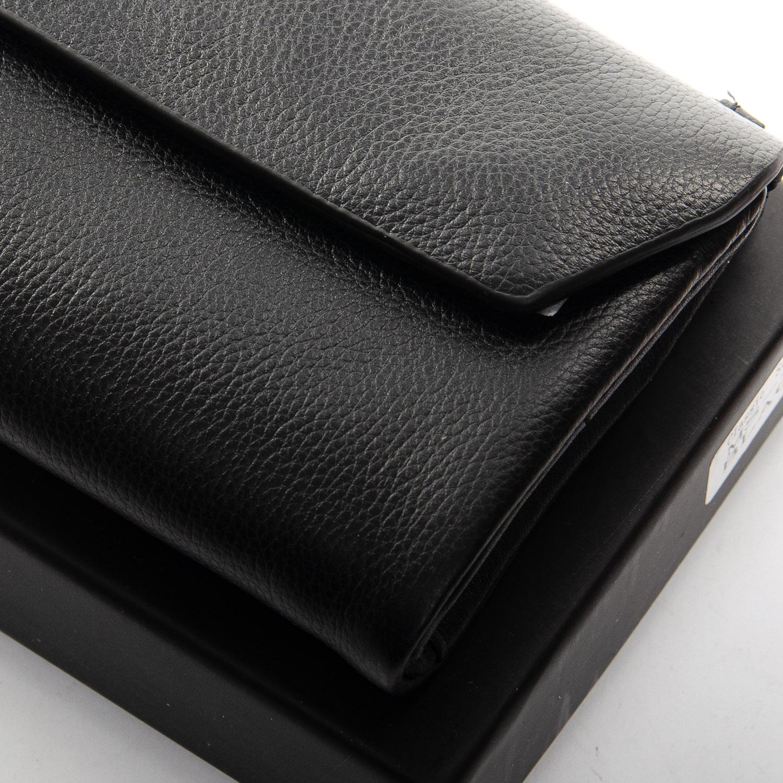 Кошелек Classic кожа DR. BOND MS-42 black - фото 3