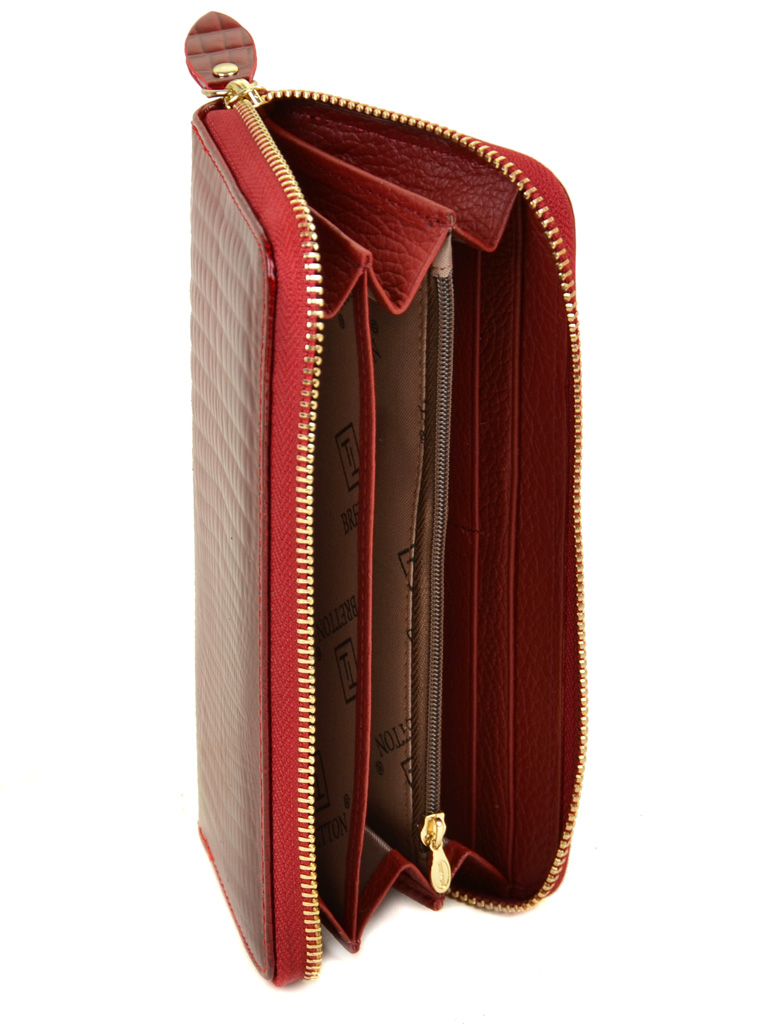 Кошелек Lizard кожа-лак DR. BOND W38 red