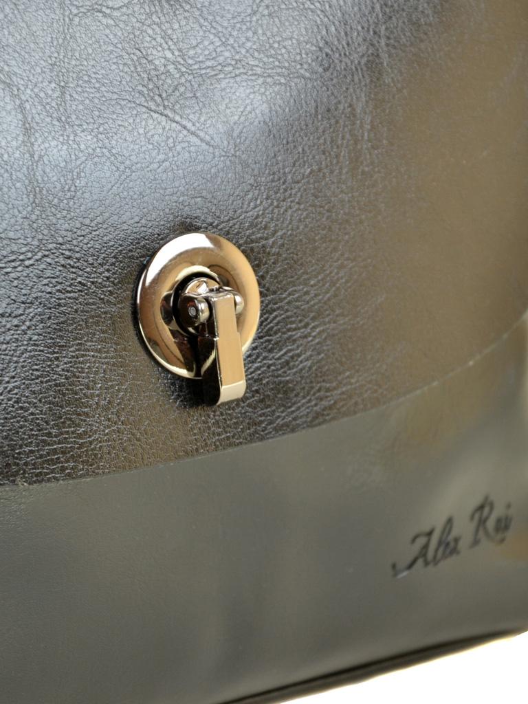 Сумка Женская Классическая кожа ALEX RAI 2-01 321-1 black-fuk-skin