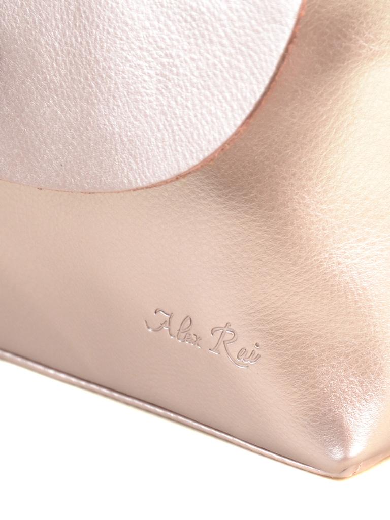 Сумка Женская Классическая кожа ALEX RAI 2-01 321-1 gold-ful-skin