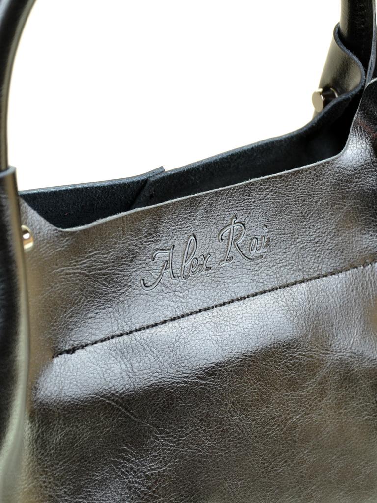 Сумка Женская Классическая кожа ALEX RAI 2-01 8649-2 black