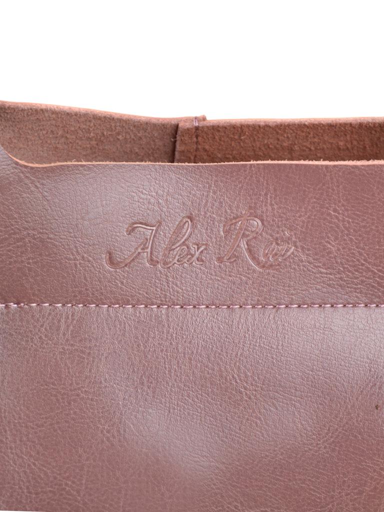 Сумка Женская Классическая кожа ALEX RAI 2-01 8649-2 purple