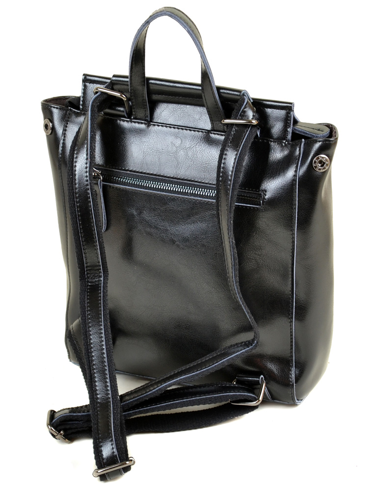 Сумка Женская Рюкзак кожа ALEX RAI 2-01 3206-3 black