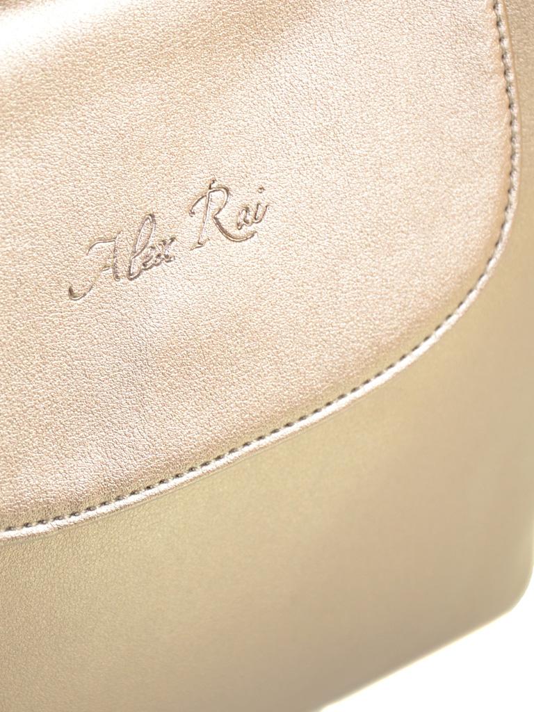Сумка Женская Классическая иск-кожа ALEX RAI 2-02 1606 golden
