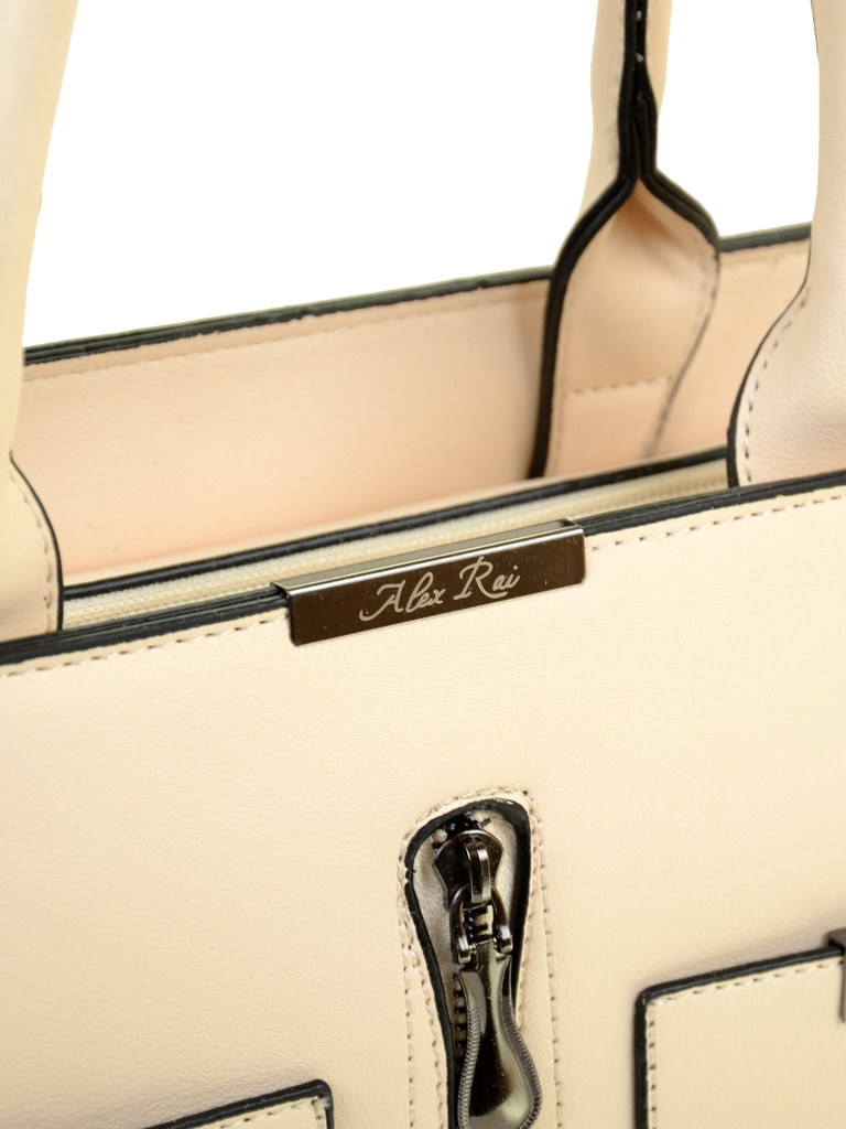 Сумка Женская Классическая иск-кожа ALEX RAI 2-02 1910 white