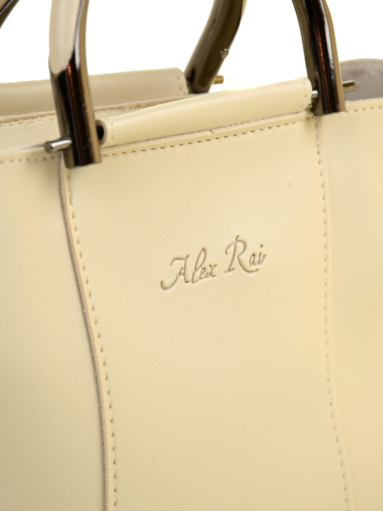 Сумка Женская Классическая иск-кожа ALEX RAI 2-03 1005 beige - фото 3