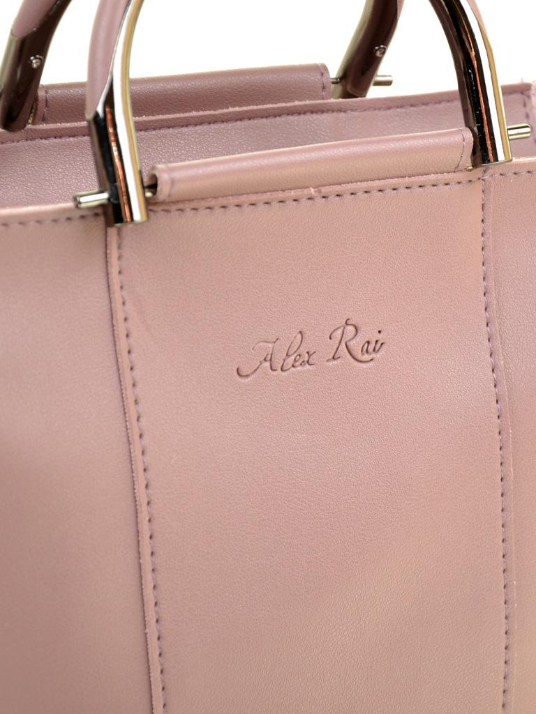 Сумка Женская Классическая иск-кожа ALEX RAI 2-03 1005 purple