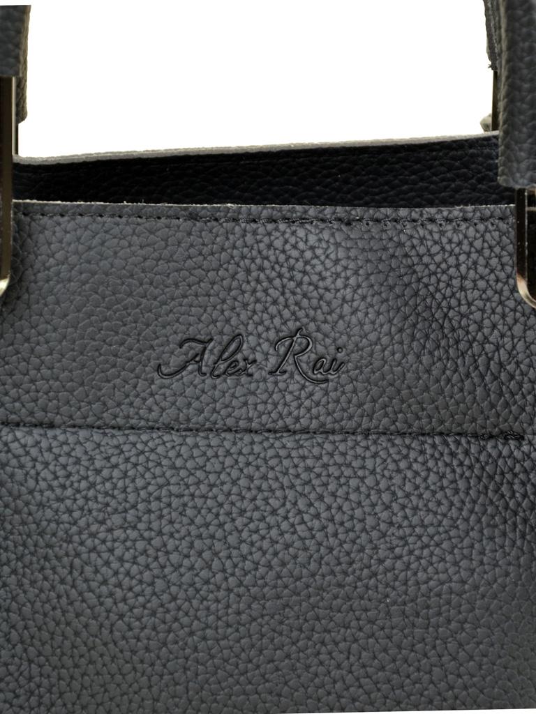 Сумка Женская Классическая иск-кожа ALEX RAI 2-03 1006 black