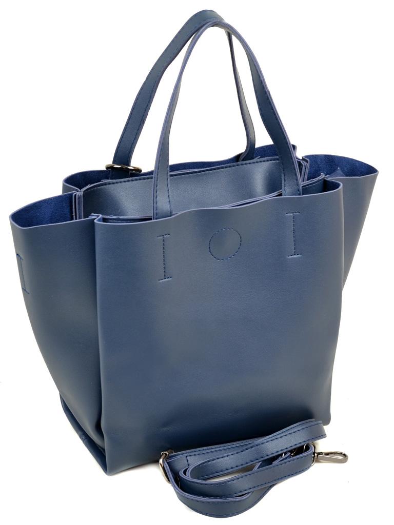 Сумка Женская Классическая иск-кожа ALEX RAI 2-03 1619 blue