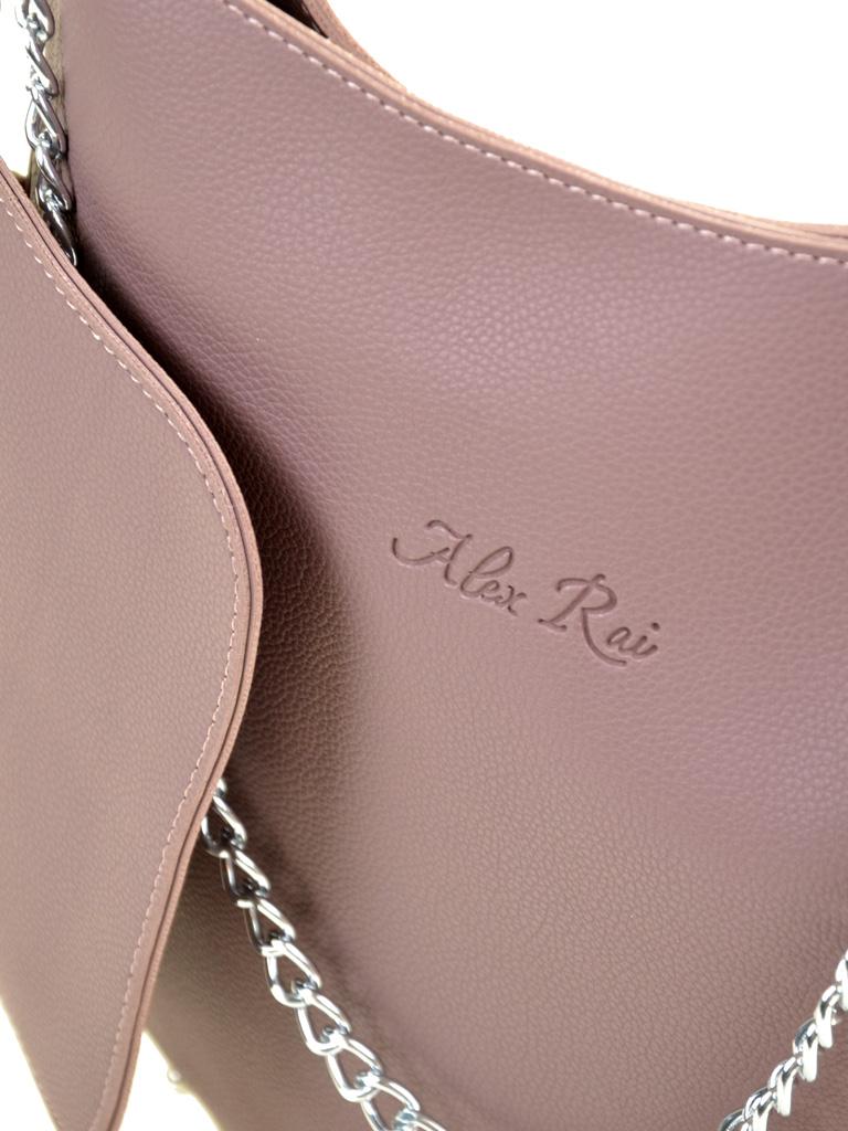 Сумка Женская Классическая иск-кожа ALEX RAI 2-03 1871 purple