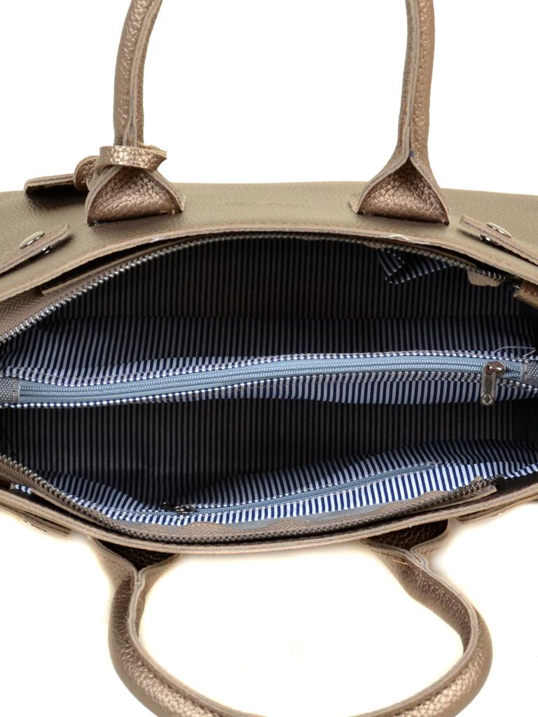 Сумка Женская Классическая иск-кожа ALEX RAI 2-03 50776 bronz