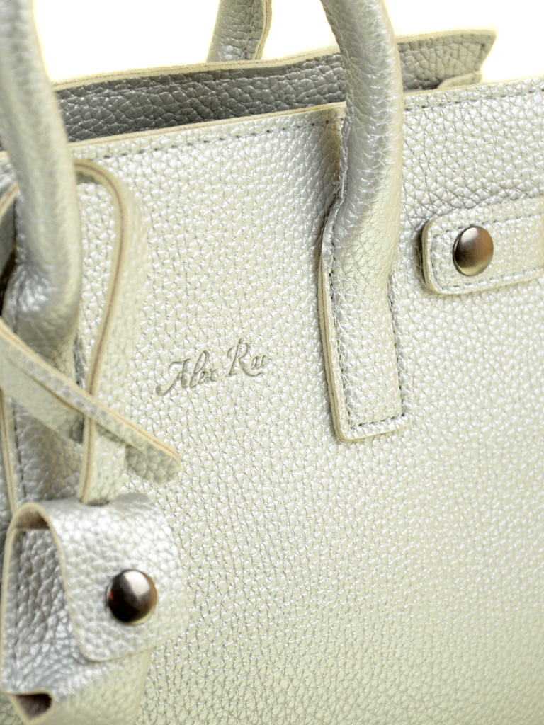 Сумка Женская Классическая иск-кожа ALEX RAI 2-03 50777 silver