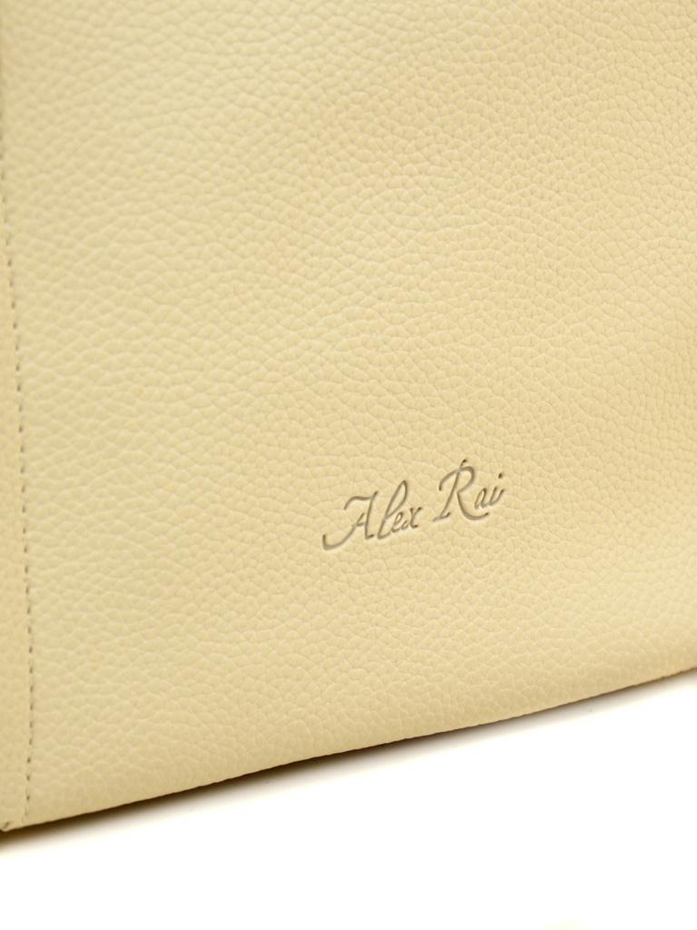Сумка Женская Классическая иск-кожа ALEX RAI 2-03 602 beige - фото 3