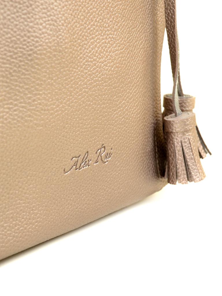 Сумка Женская Классическая иск-кожа ALEX RAI 2-03 602 bronz