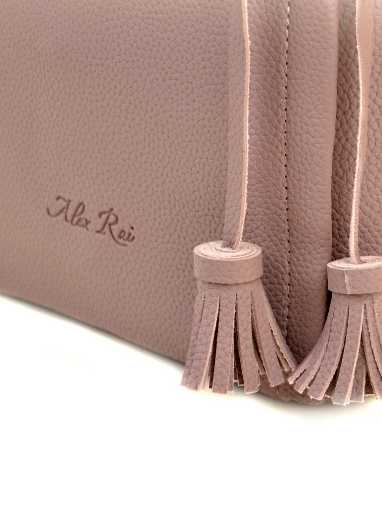Сумка Женская Классическая иск-кожа ALEX RAI 2-03 602 purple