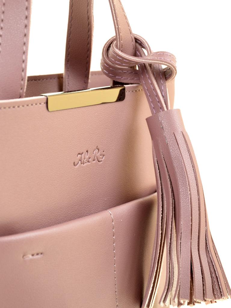 Сумка Женская Классическая иск-кожа ALEX RAI 2-03 820 purple